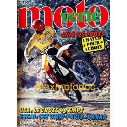 Moto verte n° 72