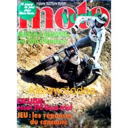Moto verte n° 11