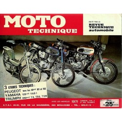 Revue moto technique...