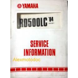 Yamaha 500 RDLC de 1984
