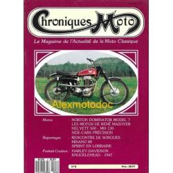 Chroniques moto n° 8