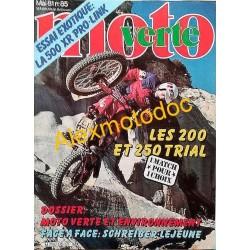 Moto verte n° 85