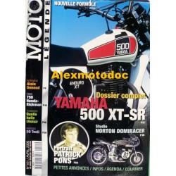 Moto légende n° 101