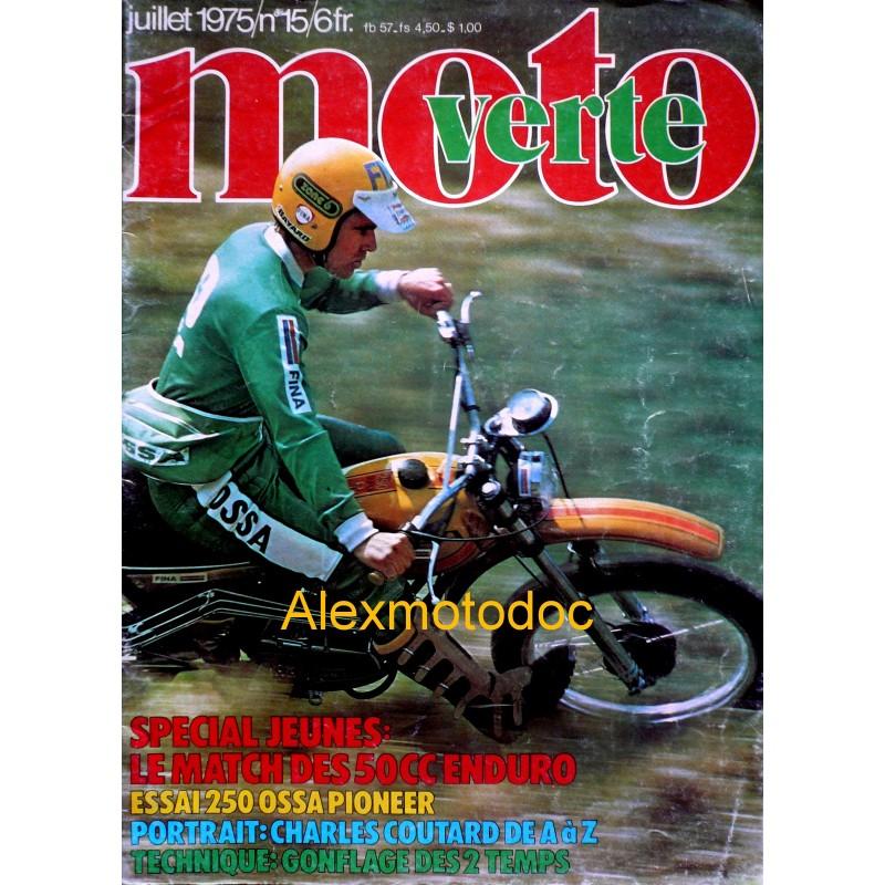 Moto verte n° 15