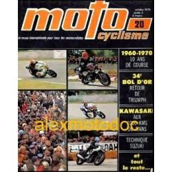 Motocyclisme n° 20