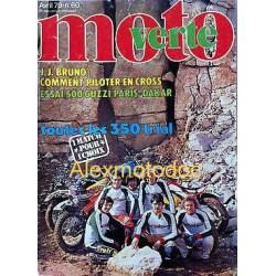 Moto Verte n° 60