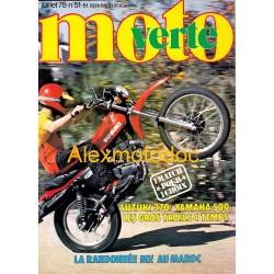 Moto verte n° 51
