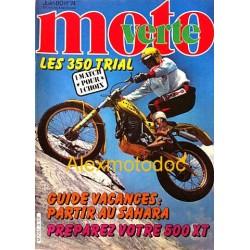 Moto verte n° 74