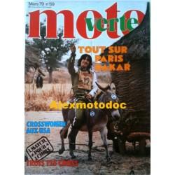 Moto verte n° 59