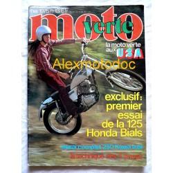 Moto verte n° 13