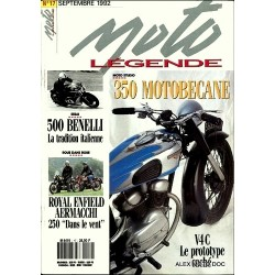 Moto légende n° 17