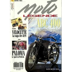 Moto légende n° 23