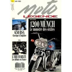Moto légende n° 25