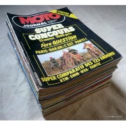 Année 1981 MOTO JOURNAL