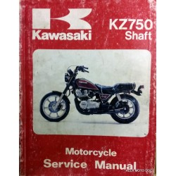 Kawasaki KZ750 KZ 750 GT Schaft manuel revue technique atelier workshop