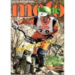 Moto verte n° 20