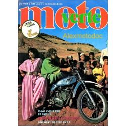 Moto verte n° 33