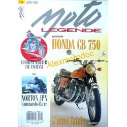 Moto légende n° 26