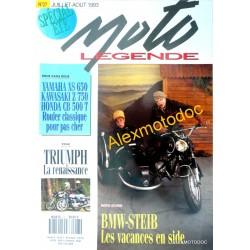 Moto légende n° 27