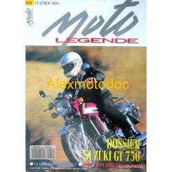 Moto légende n° 33