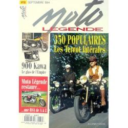 Moto légende n° 39
