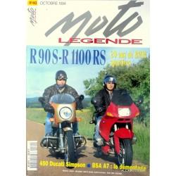 Moto légende n° 40