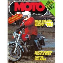 Moto journal n° 196