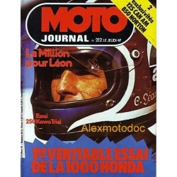 Moto journal n° 0