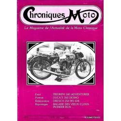 Chroniques moto n° 9