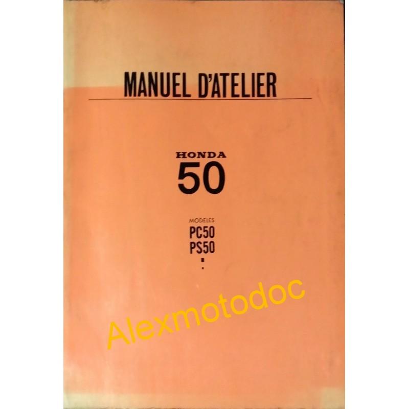 manuel d 39 atelier honda 50 pc et ps de 1972. Black Bedroom Furniture Sets. Home Design Ideas